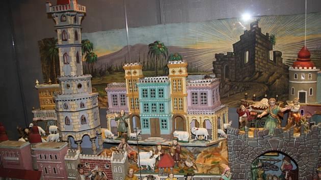Výstava Vánoce v čase našich prababiček v Polabském muzeu