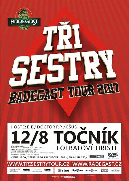 TŘI SESTRY RADEGAST TOUR 2017 12.7.FOTBALOVÉ HŘIŠTĚ - TOČNÍK