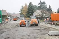 Uzavírka Budiměřic potrvá do 2. prosince.