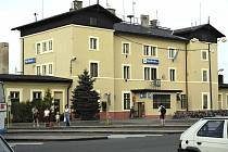 Nymburské nádraží.