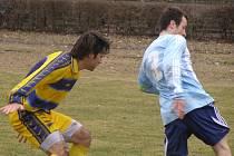 Z fotbalového utkání I.A třídy Poděbrady - Kostelec u Křížku (0:3)