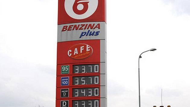 Benzina Nymburk Zálabí