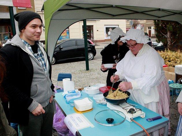 Restaurant Day na nymburském náměstí