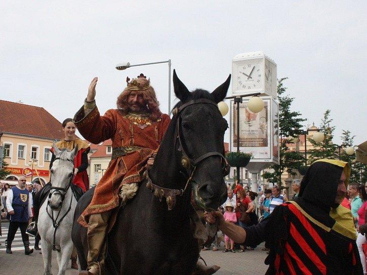 Slavnosti krále Jiřího v Poděbradech.