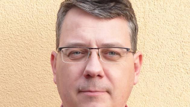 Nový starosta Sadské Milan Dokoupil.
