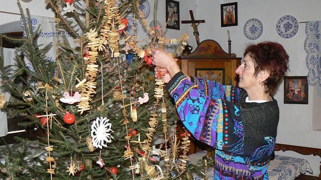 V přerovském skanzenu začíná v sobotu vánoční výstava.