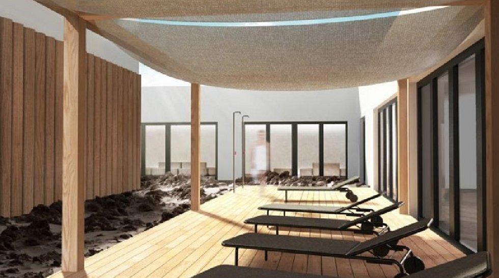 Vizualizace některých částí nového hotelu.