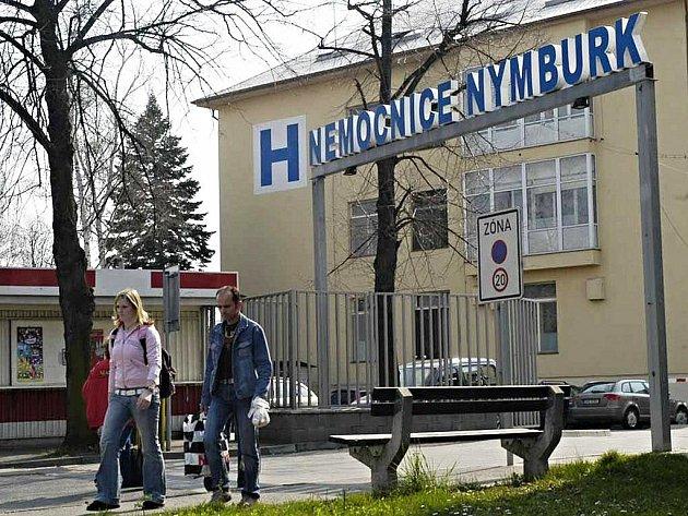 Nemocnice Nymburk.