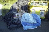 Město Sadská postupně ruší a zmenšuje sběrná hnízda na tříděný odpad.
