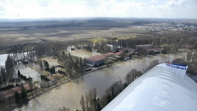 Nymburské sportcentrum pod vodou