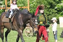 Den koně se konal v historické vesničce Botanicus v Ostré