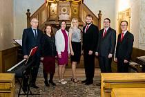Benefiční květnový koncert sólistů pěveckého sboru Collegium 2010 v evangelickém kostele v Opolanech.