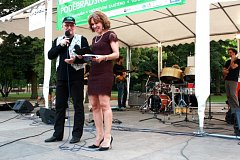 V pátek začalo Poděbradské swingování, koncertoval Ivan Hajniš