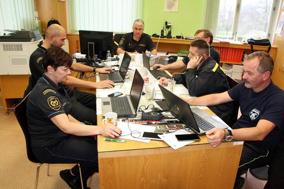 V sídle nymburských profesionálních hasičů zasedala pracovní skupina