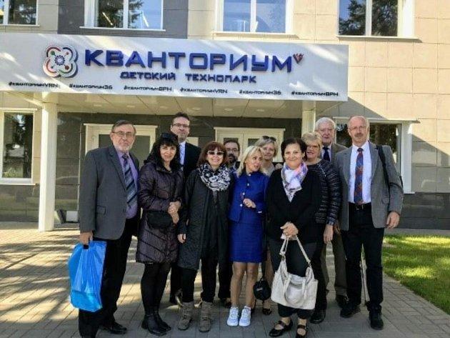 Návštěva Voroněžského institutu rozvoje dalšího vzdělávání