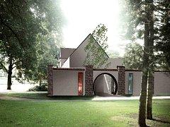 STÁLE platná vizualizace veřejných toalet podle projektu architekta Petra Němce.