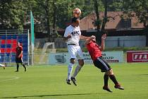 Z přípravného fotbalového utkání Bohemia Poděbrady - Union Čelákovice (3:2)