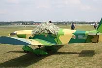 Slet letadel v Nymburce