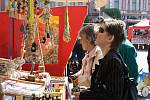 Ve středu se na nymburském Náměstí Přemyslovců konaly Velikonoční trhy