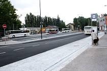 Nové autobusové terminály v Poděbradech jsou v provozu