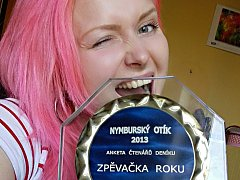 Lucie Janková, Zpěvačka roku 2013.