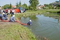 Útok z přírodní nádrže.