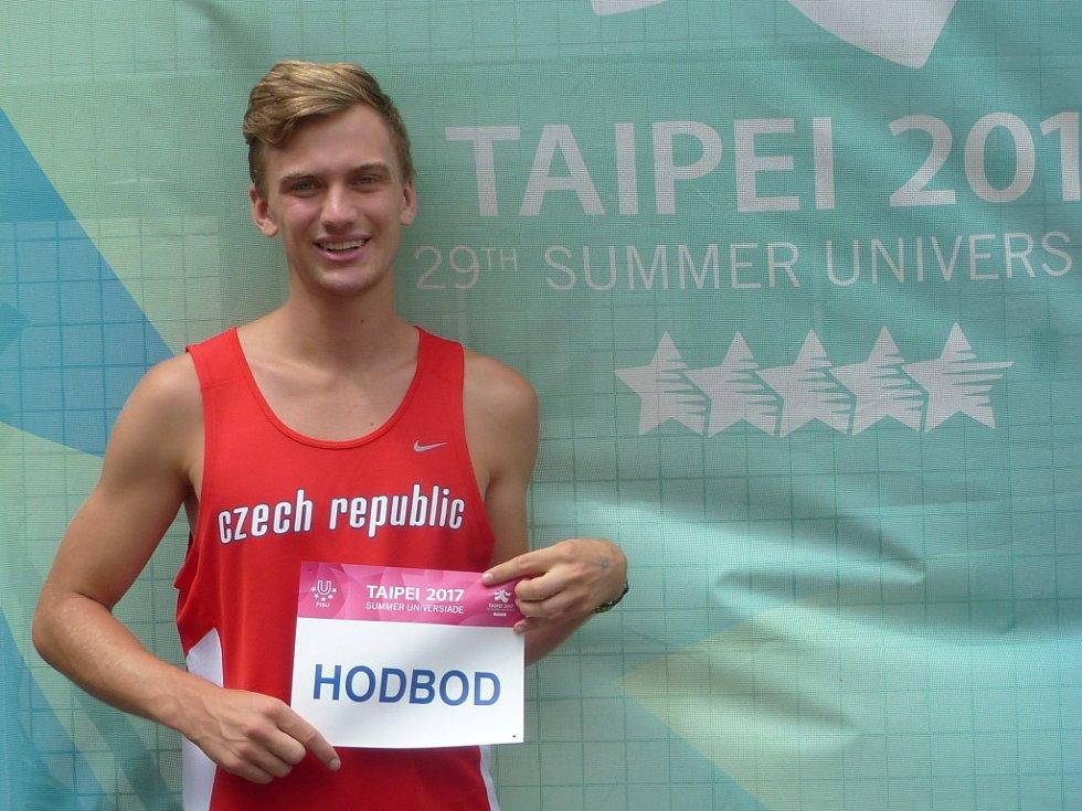 Atlet Lukáš Hodboď