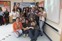 Studenti lyské obchodní akademie navštívili Anglii