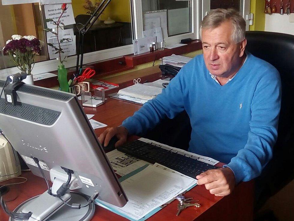 Prezident nymburského hokejového klubu Tomáš Netík.