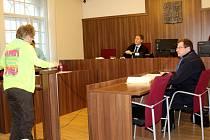 Obžalovaný Vojtěch Jecha sledoval hlavní líčení prostřednictvím videokonference z ruzyňské vazební věznice. Únorovému jednání však už bude přítomen osobně.