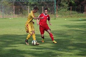 Fotbal - divize staršího dorostu: Polaban Nymburk - Dukla Praha (0:9)