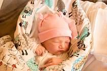 Markéta Sadilová se narodila v nymburské porodnici 13. prosince 2020 v 8.28 hodin s váhou 3370 g a mírou 47 cm. Prvorozená holčička bude bydlet ve Dvorech s maminkou Markétou a tatínkem Janem.