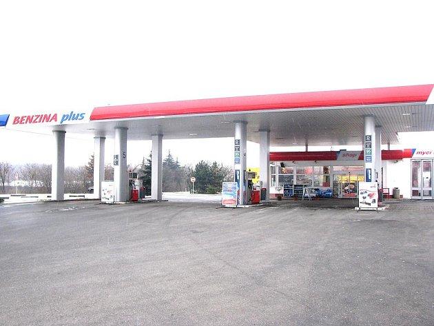 Nymburská pumpa, u které došlo k incidentu