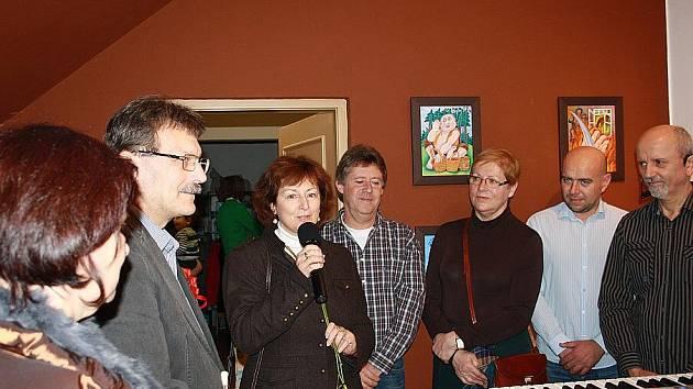 Polabský autor Jan Řehounek pokřtil svou další knížku pro děti s názvem Pohádky z kerského lesa.