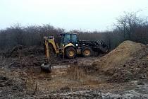 V rezervaci nedaleko Milovic vyrostly dvě nové tůně, které mají zvířatům pomoci v obdobích extrémního sucha.