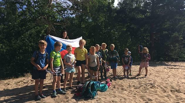 Tábor s Lesní školkou Cílek Na Kilimanjaro v teniskách!