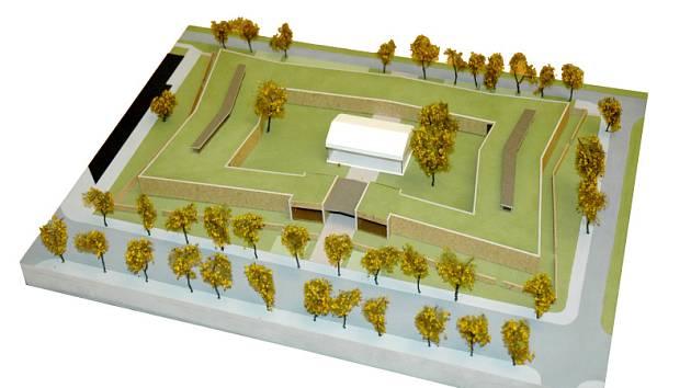 Vizualizace budoucího Domu pro seniory