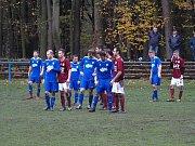 Fotbalisté Bohemie Poděbrady vyhráli v dalším kole soutěže 2:1 nad Libušínem.