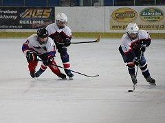 Hokejoví mladší žáci sehráli derby. Nymburk v něm porazil Poděbrady 8:6