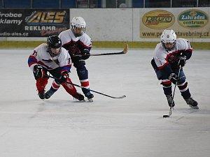 Hokej - Regionální liga mladších žáků: Nymburk - Poděbrady (8:6)