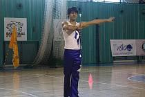 Lubomír Kábrt z Čáslavi se účastnil Mistrovství republiky ve twirlingu.