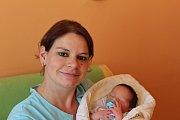 TONÍK Z PODĚBRAD. ANTONÍN POLÁK se narodil mámě Zuzaně a tátovi Martinovi 16. května 2017 v 8.18. Vážil 3 910 g a měřil 50 cm.