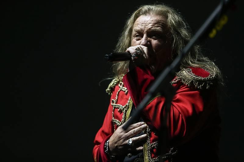 Koncert Kabátu v Nymburce v sobotu 24. července 2021.