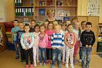 Žáci 1. B ZŠ T. G. Masaryka, třídní učitelka Renata Urbánková.
