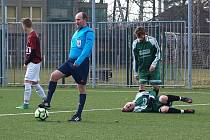 Z utkání fotbalového okresního přeboru Bohemia Poděbrady B - Rožďalovice (2:2)