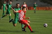 Z divizního fotbalového utkání Kutné Hora - Polaban Nymburk (2:1)