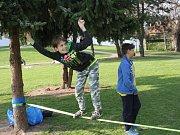 Lesní školka Cílek a skauti uspořádali Den Země