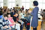 Projekt Abychom nezapomněli ve škole v Městci Králové.