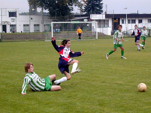 Starší dorost Polabanu nedokázal proměnit s Neratovicemi ani penaltu.