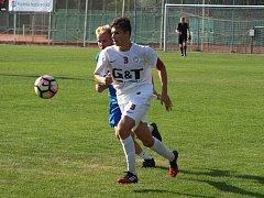 Z přípravného fotbalového utkání Bohemia Poděbrady - Kralovice (3:4)